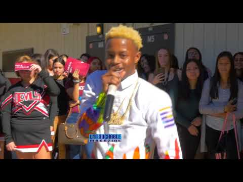 Silento Live Performance Pomona High school (Watchmepart2)