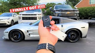 TAKING DELIVERY Of My New 640HP Corvette...