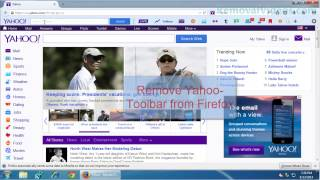 How to Remove Yahoo-Toolbar from IE and Firefox[Removal Guide]