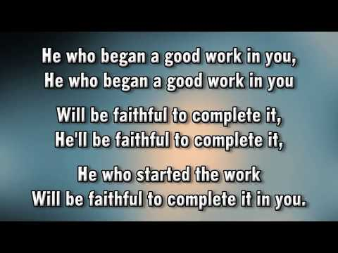 He Who Began a Good Work in You Dawn James & Wathy Jamir   MVL   roncobb1