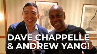 Dave Chapelle endorses Andrew Yang!