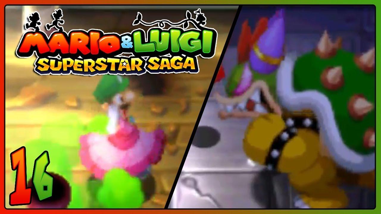 Download Mario Luigi Superstar Saga 3ds Part 16 Peach