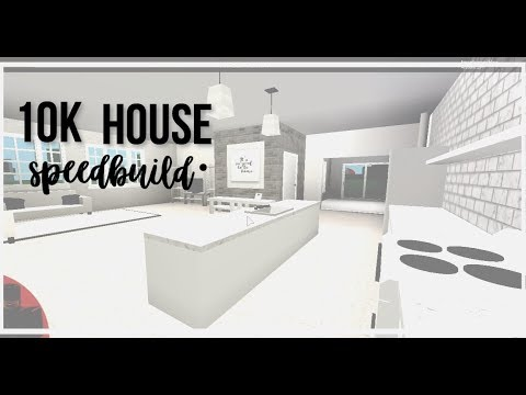 Roblox bloxburg 10k house youtube for Kitchen designs bloxburg