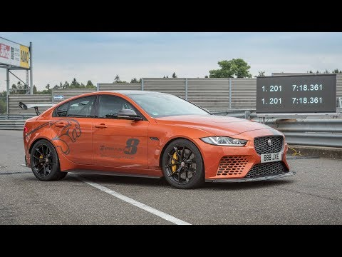 Jaguar | XE SV Project 8 Breaks Its Own Nürburgring Record in 360°