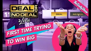 🔥🎬 DEAL OR NO DEAL : FIRST TIME TRYING TO WIN BIG 💥💸