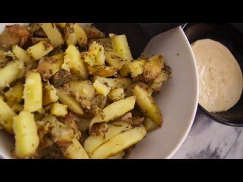 recette-potatoes-et-sauce-vegan-tupperware-avec-l'ultra-pro-3,5-l
