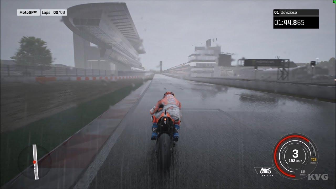 MotoGP 18 - Ducati Desmosedici GP18 - Rain Gameplay (PC HD) [1080p60FPS]