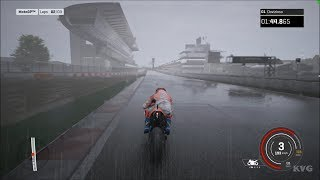 MotoGP 18 - Ducati Desmosedici GP18 - Rain Gameplay (PC HD) [1080p60FPS]