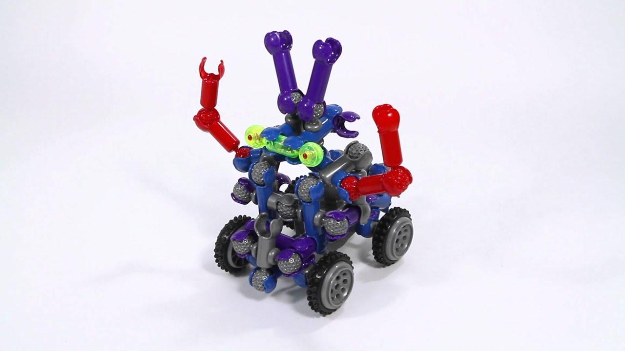 Zoob Builderz Bot Building Set 0z14001 Youtube