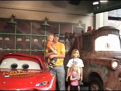 Ellingson Kids Meet Mater and McQueen