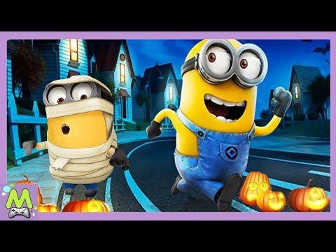 Minion Rush/Гадкий Я Бег на Хэллоуин.Обновление Игры.🎃 Сладость или гадость? Высадка на Луну
