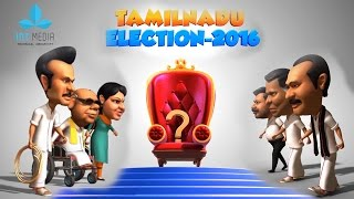 Tamilnadu Election 2016 Animation Part - 1