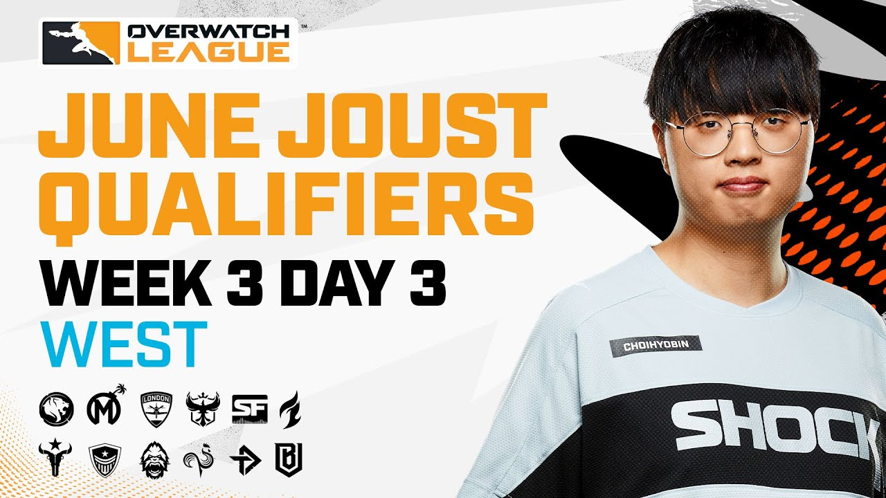 Overwatch League 2021 Season | June Joust Qualifiers | Week 3 Day 3 — West