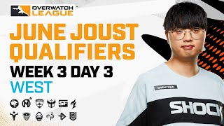Overwatch League 2021 Seąson   June Joust Qualifiers   Week 3 Day 3 — West