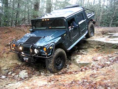 Hummer H1 Off Road - YouTube