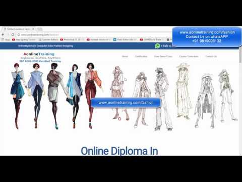 Online Fashion Designing Courses (CAD) - Free Demo Class