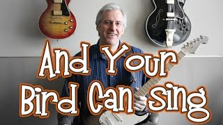 "The Beatles ""And Your Bird Can Sing"" Arranged for One Guitar"