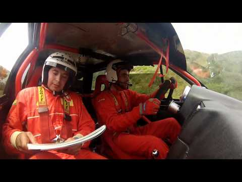 onboard rally cidade de fafe - Fabio Silva - Fernando Coelho citroen ax sport