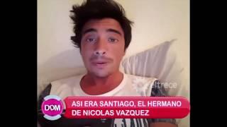 Así era Santiago Vázquez, el hermano de Nicolás Vázquez