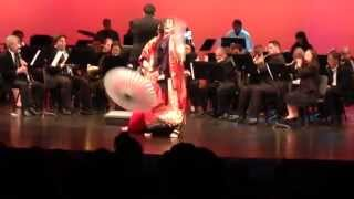MIYUKI GETA DANCE Sakura Variants w/ELAC Symphony Band