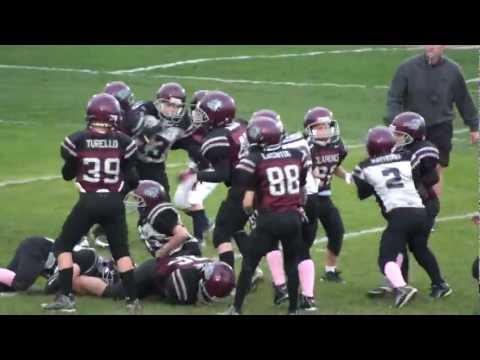 2012 Clarence Bulldogs Freshmen Maroon Vs Silve