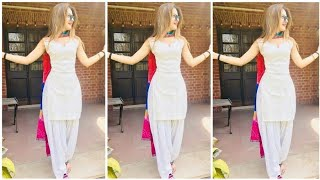 punjabi suit for college/office wear 2019 / salwar kameez for girls/women's / punjabi suit design