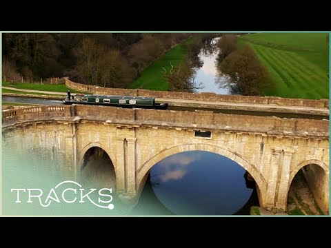 Relaxing Single Shot Along England's Canals (Full Documentary) | TRACKS