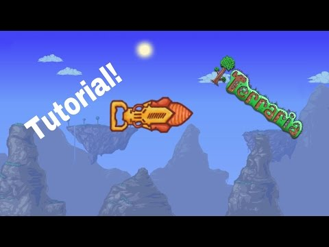 Terraria: How to get palladium/cobalt drill!!!