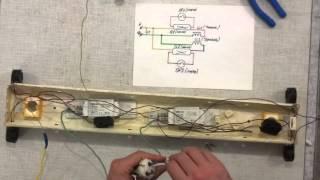 как подключить люминесцентный светильник (ЛБ -20, 40, 60, 80)(, 2015-06-07T10:07:59.000Z)