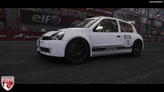 GRID 2019 - Renault Clio S1600 at Paris Circuit De La Seine [4K 60FPS]