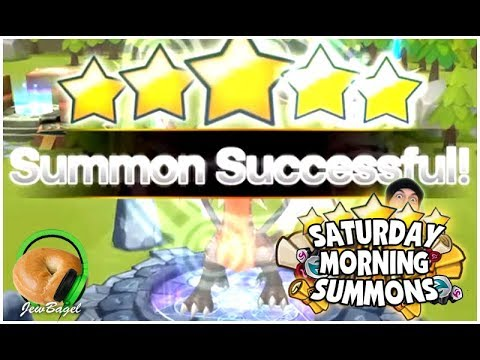 SUMMONERS WAR : SATURDAY MORNING SUMMONS! 500+ Mystical, LD, Legendary Scrolls and more! (4/7/18)