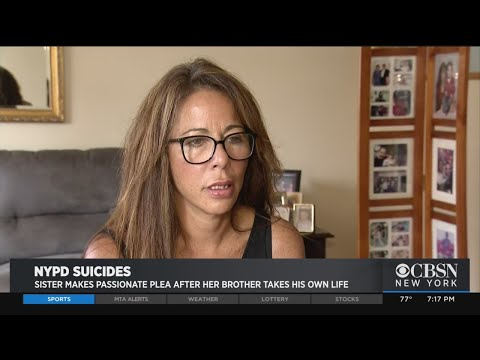 Police Officer's Sister: NYPD 'Responsible' For His Suicide