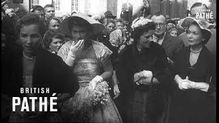 Lawford-Kennedy Wedding (1954)