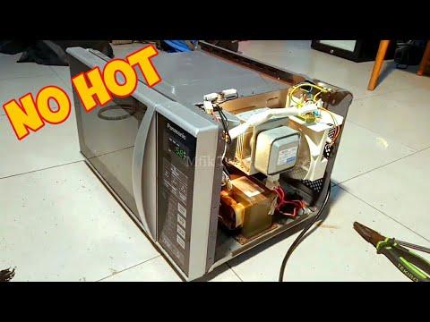 microwave tidak panas