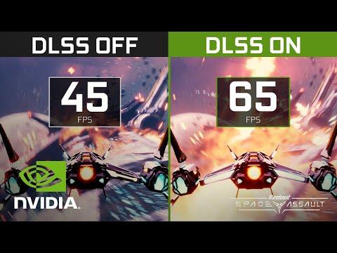 Redout: Space Assault | NVIDIA DLSS Comparison