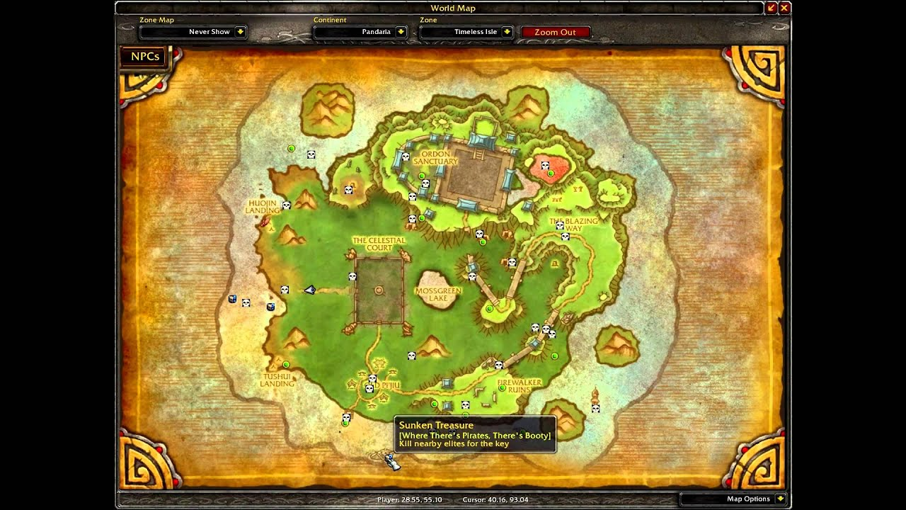 Wow patch 5 4 addons for the timeless isle youtube for Wow portent 5 4