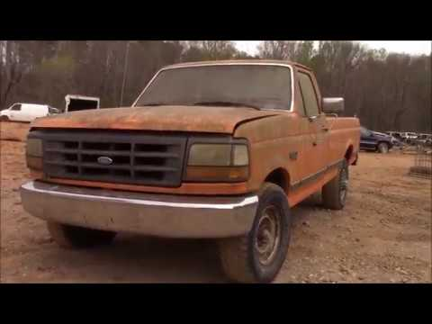 !!PRESSURE WASHING THE SCRAPPED F250!! PART 1