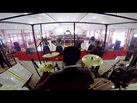 Langit dan Bumi Pujilah Tuhan - YRS Drum Cam (Live at Pesparawi 2017, Kaimana)
