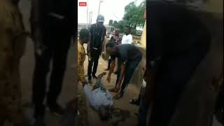 End SARS Malake joined protests #Man shot dead in Edo state protests