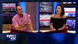 Intervista ne Syri Net te ftuar ne studio Luli Hoxha dhe Genci Fuga