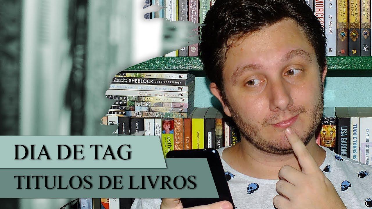 Tag dos Títulos de Livros | MEROS DEVANEIOS