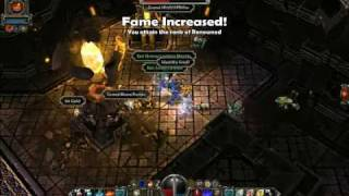 torchlight hard gameplay destroyer aoe grind and single target damage channeling