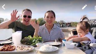 Vlog 627 llXuất Chiêu Làm 3 Món, Thịt Heo Cuốn Bánh Tráng, Thịt Chiên Nước Mắm, Thịt Kho Tàu