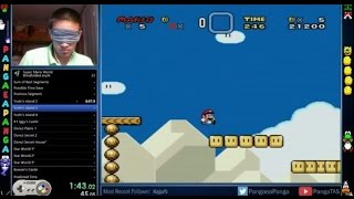Super Mario World Blindfolded Speed Run - #CUPodcast