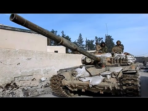 """More images from the Syrian Army's operation """"Damascus Steel"""" 