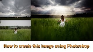 Photoshop Tutorial - Blending images With Photoshop