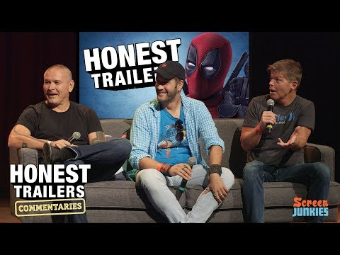 Deadpool Director & Creator React to the Honest Trailer! (Tim Miller, Rob Liefeld & Stefan Kapicic)