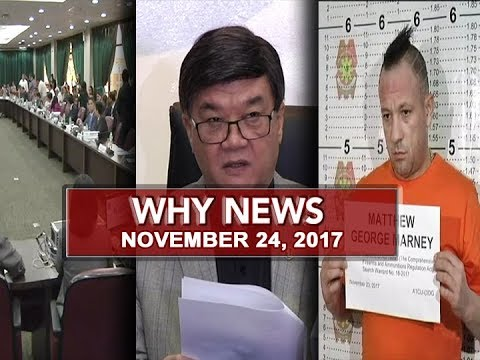 UNTV: Why News (November 24, 2017)