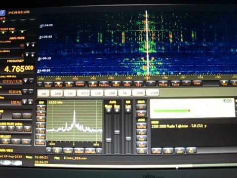 Radio Tajikistan 4765 khz 18 8 2010