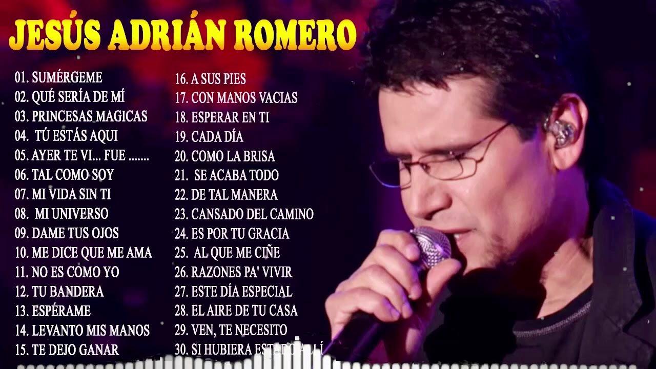 Download TOP 20 MEJORES CANCIONES DE JESÚS ADRIÁN ROMERO - MUSICA CRISTIANA @Oración Catolica